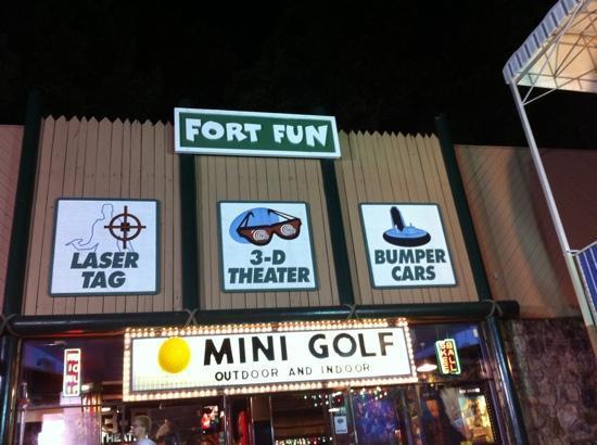 Fort Fun Mini Golf and More: Fort Fun is truly fun!!