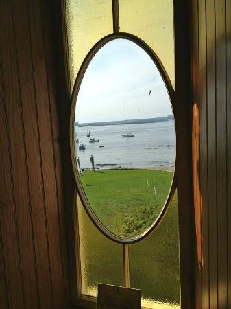 Eagle Island State Park: View from Peary house