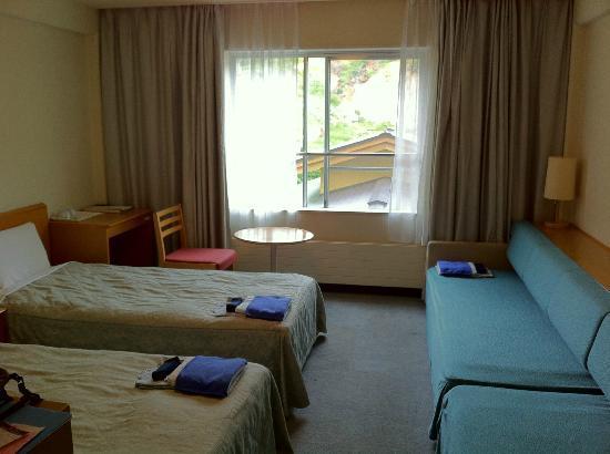 Manza Kogen Hotel: ファミリールームを2人で使用