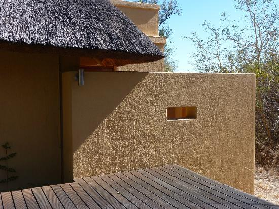Toro Yaka Bush Lodge : Outdoor bath
