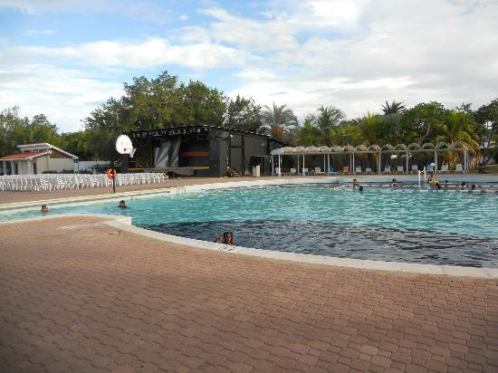 Laguna Mar: Another pool with stage in back ground