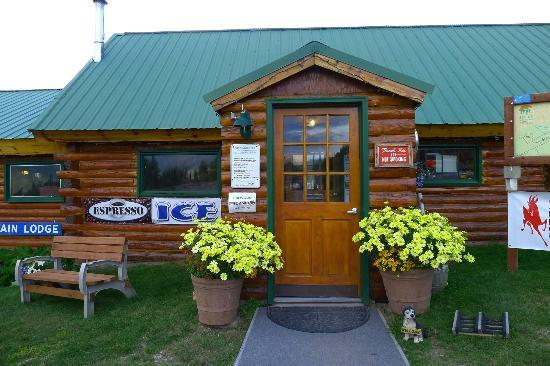 Sheep Mountain Lodge: cafe