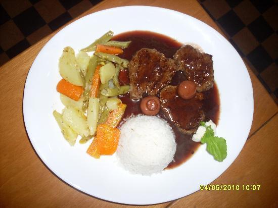 Choperia da Estacao: Filet Mignon ao Molho Madeira