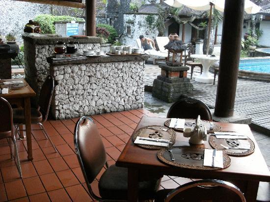 Balisani Padma: restaurant