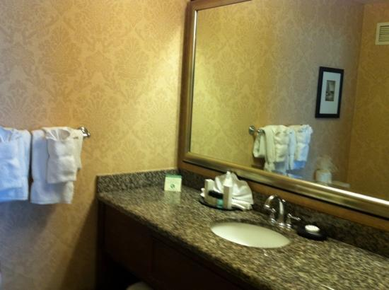 Harbourview Inn : Nice bathroom-everything you need