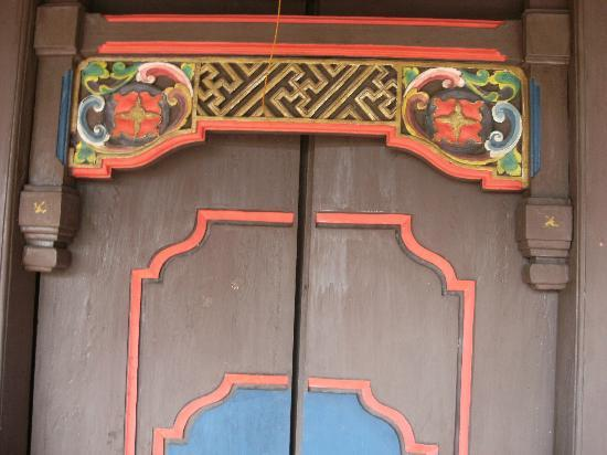 Balisani Padma: balcony room door