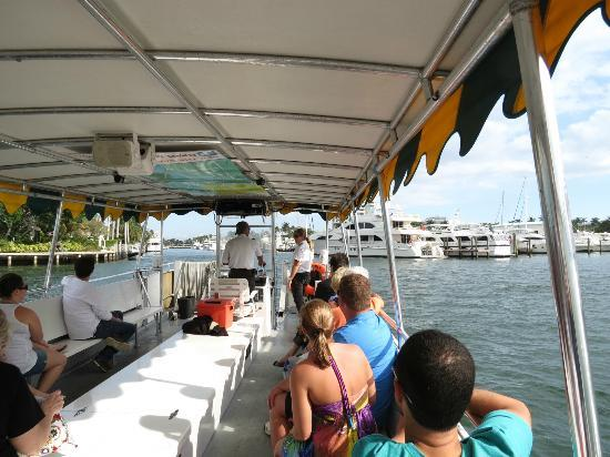Intracoastal Waterway: water taxi