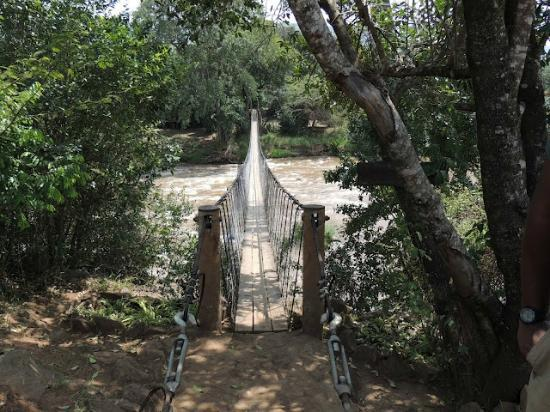 Ngare Serian: The Bridge!!! Only way to get to camp