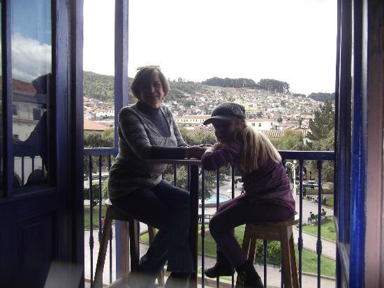 Vista espectacular desde el balcon de ChocoMuseo