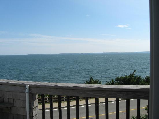 Inn on the Sound: view from our deck.