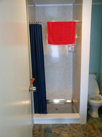 Richmond Guest House: Great shower with lots of hot water and water pressure.
