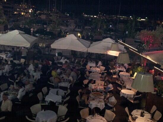 altra veduta dall'alto del ristorante l'f