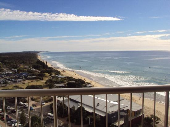 Coolum Caprice Luxury Holiday Apartments: What a view!