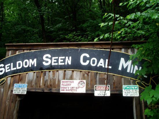 Seldom Seen Tourist Coal Mine: Entrance to the Coal Mine