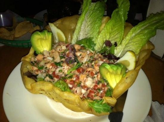 La Playa Taqueria: Their Ceviche Salad special. Muy Bonito, no?