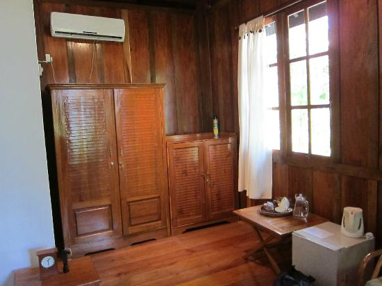 Wakatobi Dive Resort: Garden bungalow - spacious enough for a sitting area