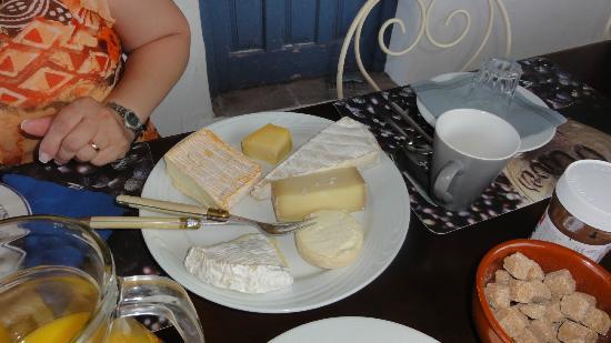 Villa Chante Coucou: Breakfast