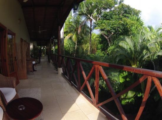 Falls Resort at Manuel Antonio: balcony outside room