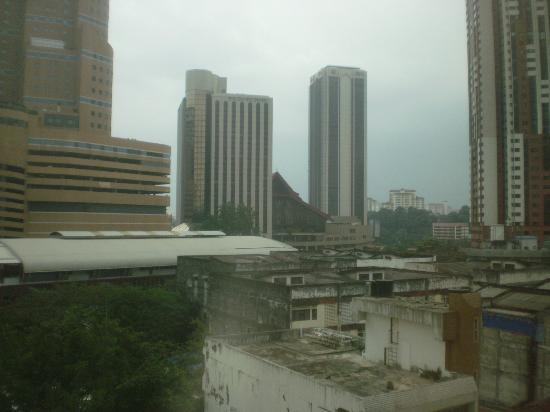 Wira Hotel: View from Room #605