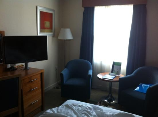 Holiday Inn Bristol Airport: one end of our room
