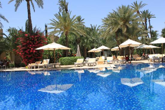 Club Med Marrakech le Riad : vue sur la piscine du Riad