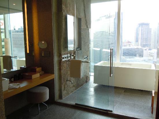 Park Hyatt Seoul : パークハイアットソウル浴室
