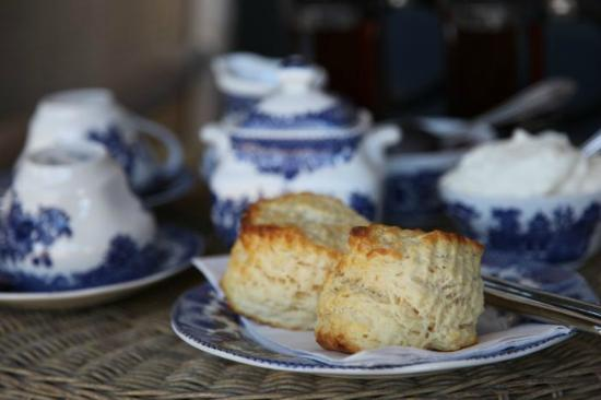 Balingup Rose Bed and Breakfast: Audrey's scrumptious scones of perfection