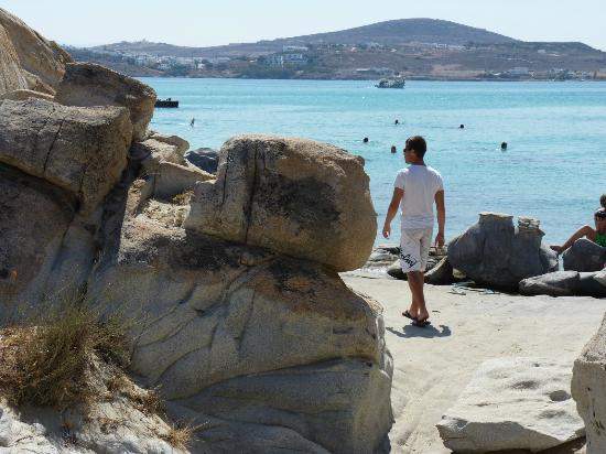 Hotel Swiss Home : plage Kolymbithres
