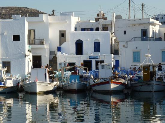 Hotel Swiss Home: port de Naoussa