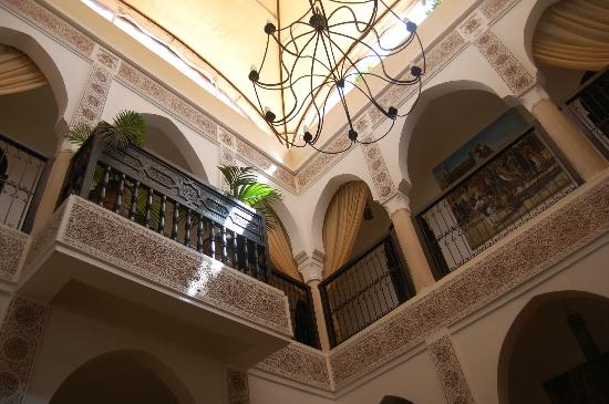 Riad Andalouse: Patio interno