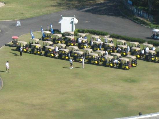 RACV Royal Pines Resort Gold Coast: Golf Carts ready to go