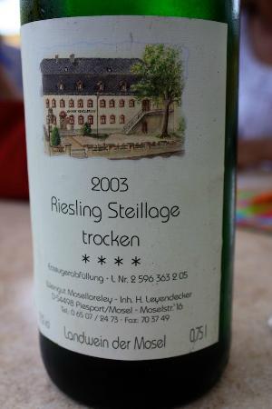 Moselloreley: 2003 Steillage