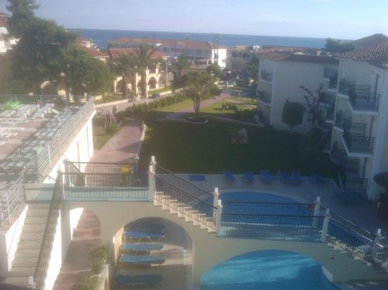 Katerina Palace Hotel: view from balcony
