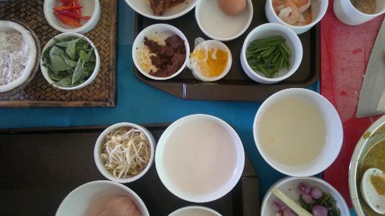 Haadtien Beach Resort: thai cooking school