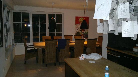 Appartementhotel Sonnenwende : sala da pranzo