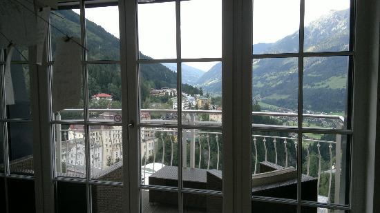 Appartementhotel Sonnenwende : vista dall'appartamento