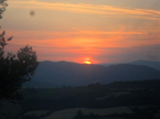 Agriturismo Ampugnano: tramonto