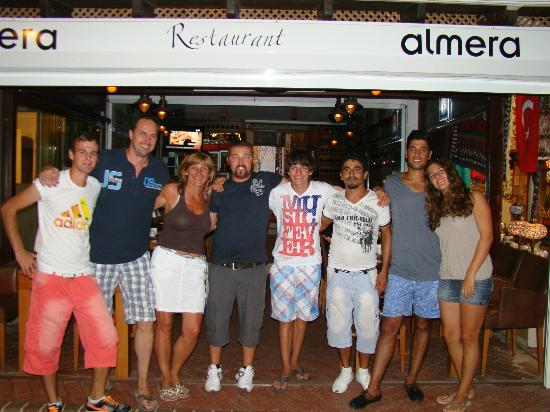 Almera Restaurant: together with staff