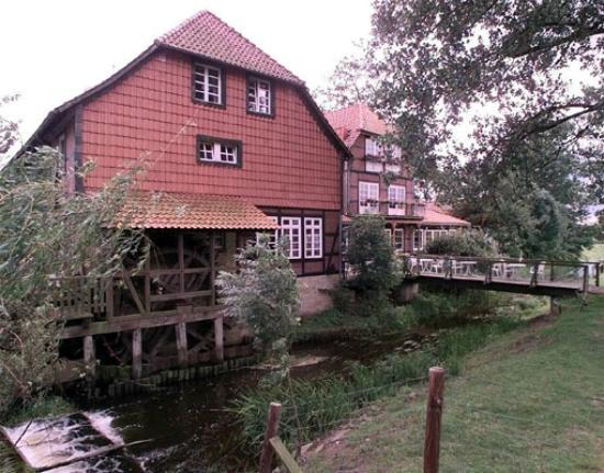 Brackstedter Mühle: Mühlrad