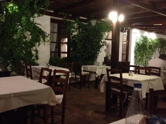 Taverna Camille Stefani : la terrazza