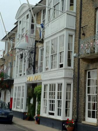The Swan Hotel: View of the Swan