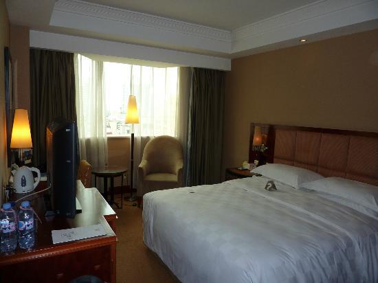 โรงแรมเทียนฟู่ ซันไชน์: Room at the Tianfu Sunshine hotel