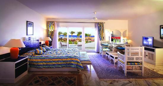 Baron Resort Sharm El Sheikh: Royal suite bedroom