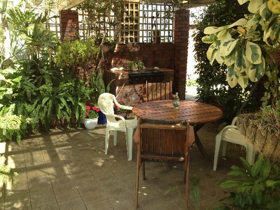 Aran Brae Bed & Breakfast : The private courtyard