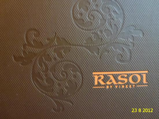 ENJOYING THE SO TASTY INDIAN FOOD OF RASOI BY VINEET RESTAURANT.