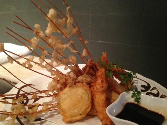 Ichiban: Mixed tempura