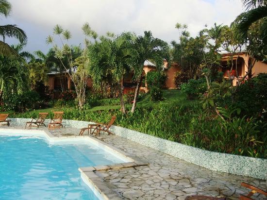 Hotel Au 'Ti Sucrier: Jardin et Piscine