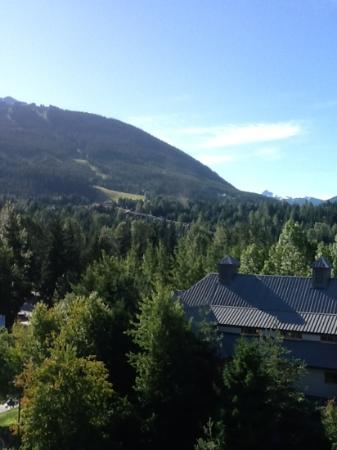 Pan Pacific Whistler Village Centre: view from main balcony.