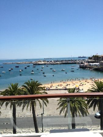 Hotel Baia: view from the balcony