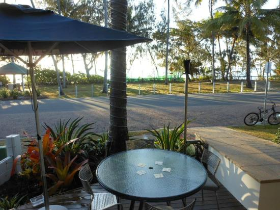 Peninsula Boutique Hotel: View from restaurant